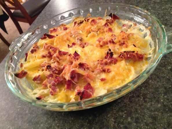 Ham & Cheese Scalloped Potatoes