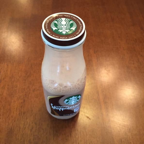 Homemade Bottled Starbucks MochaFrappuccino