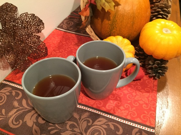 Five Minute Spiced Apple Cider forTwo