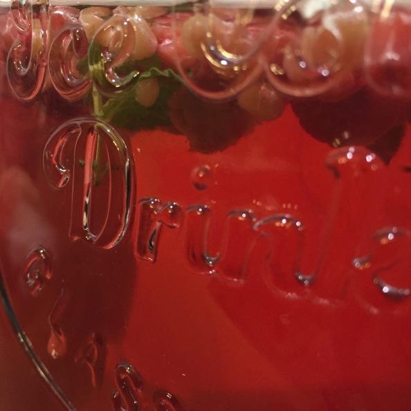 Iced Raspberry Mint SunTea