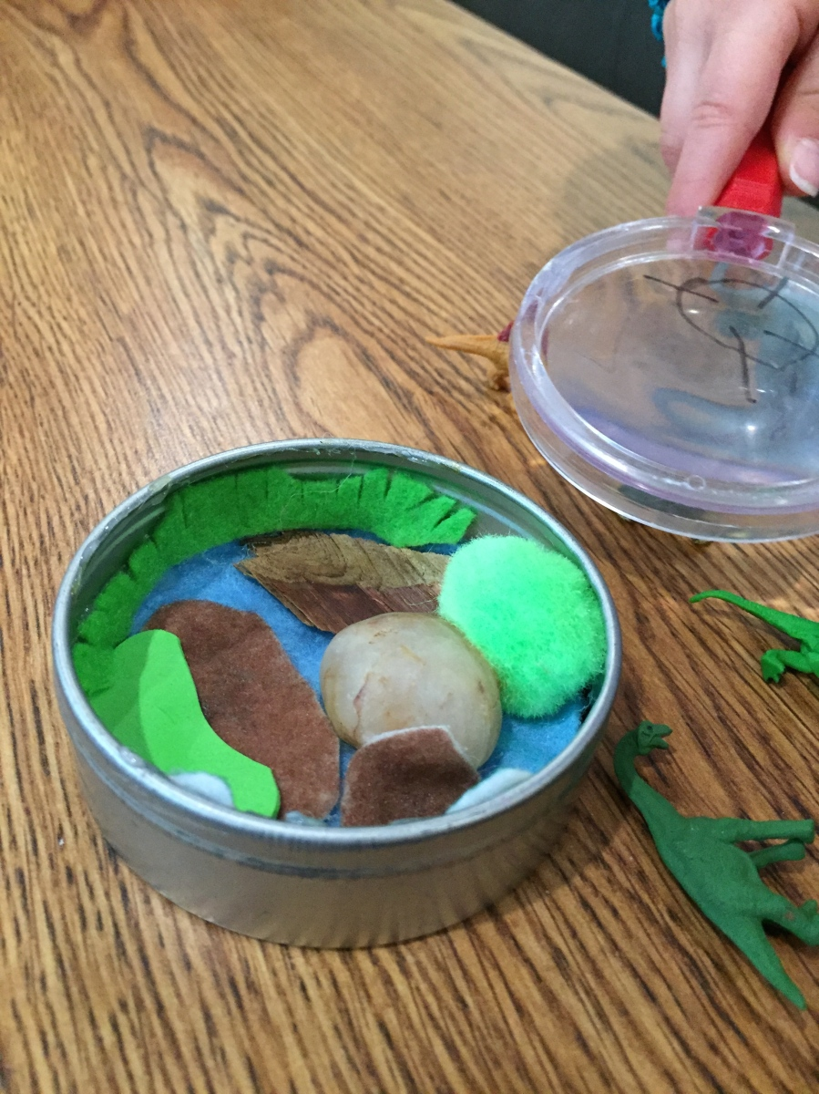 DIY Dinosaur Habitat Activity