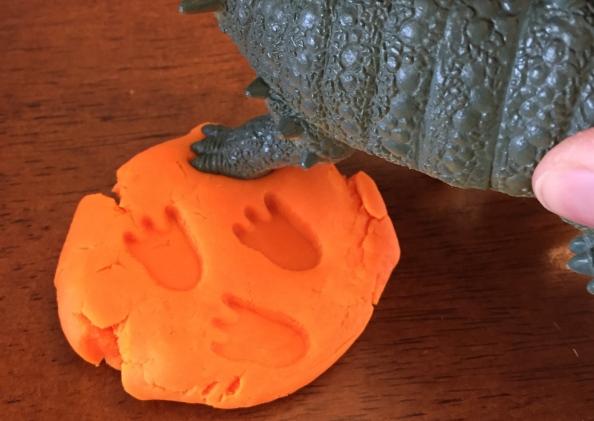 Dinosaur Texture Play