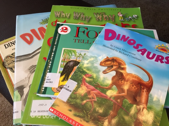 Dinosaur Book Resources for Pre-K & Kindergarten