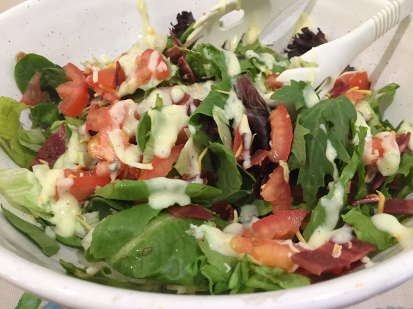 BLT Chopped Salad with Homemade RanchDressing