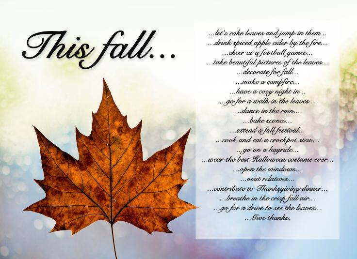 fall bucket list for blog