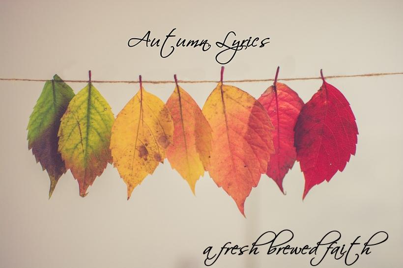 autumn lyrics